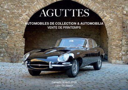 AUTOMOBILES DE COLLECTION /// VENTE DE PRINTEMPS