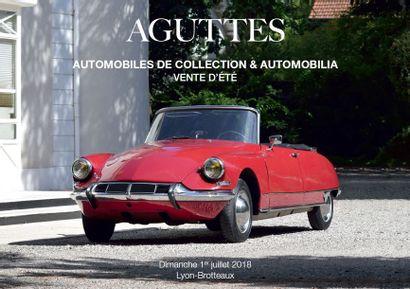 AUTOMOBILES DE COLLECTION & AUTOMOBILIA /// VENTE D'ÉTÉ