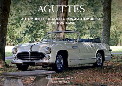 AUTOMOBILES DE COLLECTION - LA VENTE D'AUTOMNE : Automobilia et automobiles de collection
