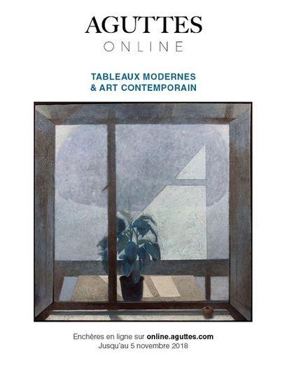 ONLINE ONLY : TABLEAUX MODERNES & ART CONTEMPORAIN