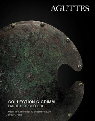 Collection G.Grimm - Partie I : Archéologie - 2e session