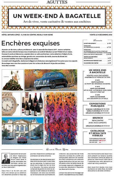 UN WEEK-END À BAGATELLE : Automobiles, montres & accessoires masculins, Street Art, bijoux & bagagerie