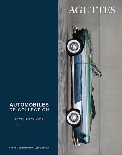 AUTOMOBILES DE COLLECTION : LA VENTE D'AUTOMNE