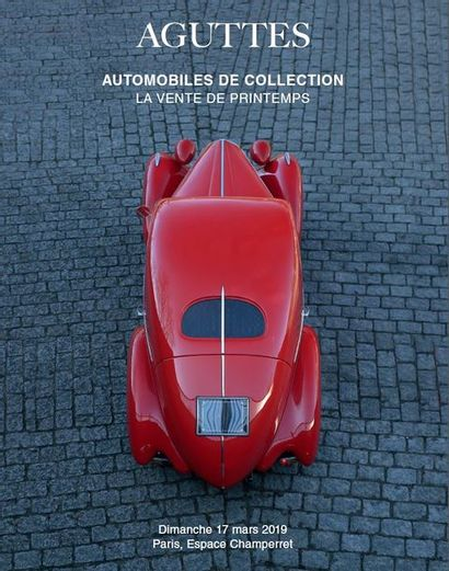LA VENTE DE PRINTEMPS - AUTOMOBILES DE COLLECTION
