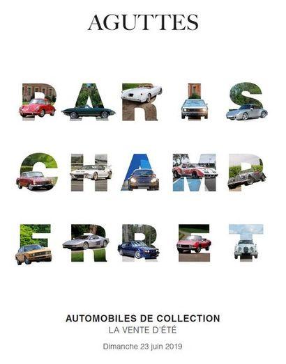 AUTOMOBILES DE COLLECTION VENTE D'ÉTÉ