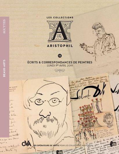 <b>15A • Beaux-Arts • Écrits & correspondances de peintres</b> par AGUTTES