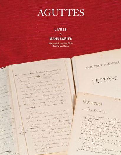 MANUSCRIPTS & AUTOGRAPHS - BOOKS