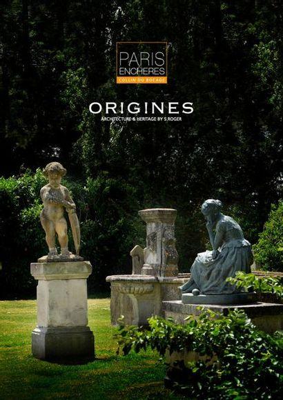 ORIGINES : éléments d'architecture et ornements de jardin VOL. I