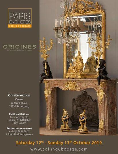 ORIGINES : éléments d'architecture et ornements de jardin VOL. II