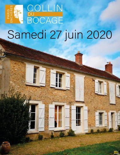 Vente de l'entier mobilier d'une propriété à 50 km de Paris (Yvelines)
