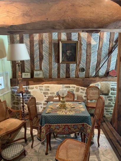 Vente de l'entier mobilier d'un pressoir XVIIIe et dépendance