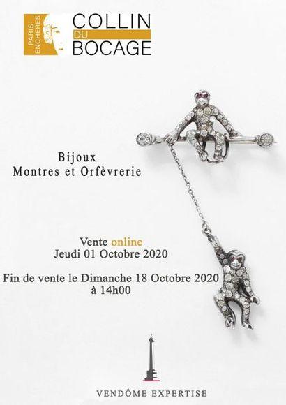 BIJOUX - MONTRES & ORFEVRERIE