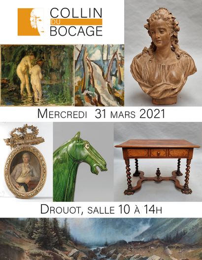 Paintings, furniture and art objects