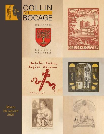 Books: collection of Dr. Eugène Olivier and others