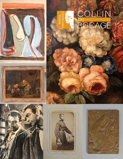 Sale paintings, art objects and decoration, furniture
