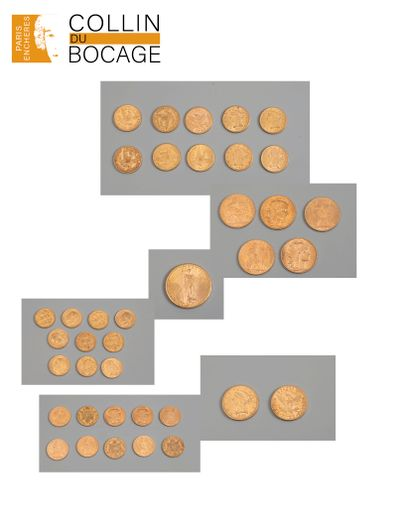 Pièces d'or sur désignation
