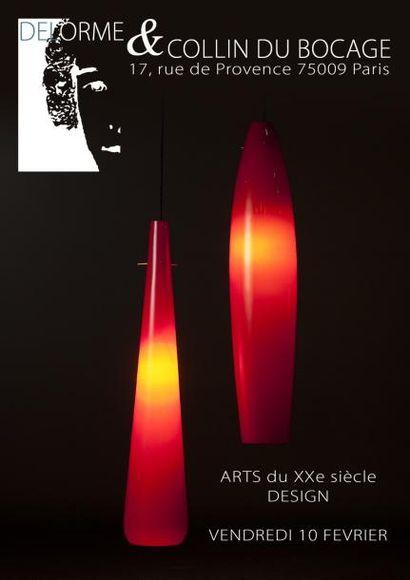 BELLE VENTE ARTS du XXe siècle - DESIGN