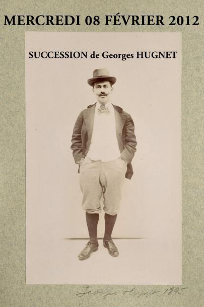 SUCCESSIONS et archives GEORGES HUGNET