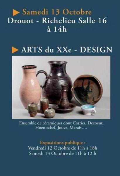 VENTE CLASSIQUE - ARTS DU XXe