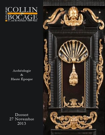 ARCHEOLOGIE - HAUTE EPOQUE