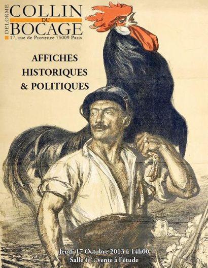 COLLECTION D'AFFICHES HISTORIQUES & POLITIQUES