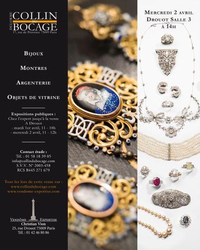 Bijoux – Montres - Argenterie - Objets de vitrine
