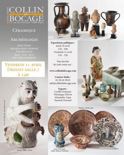 Porcelaines – Faïences - Archéologie - Art Précolombien - Arts d'Asie