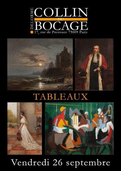 Vente non cataloguée : tableaux anciens et modernes