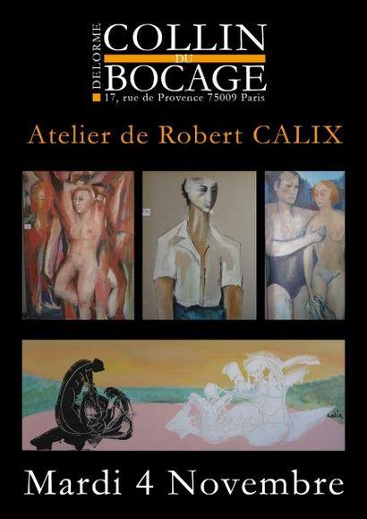 Atelier de Robert CALIX