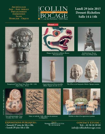 Archéologie, tableaux, mobilier et objets d'art...