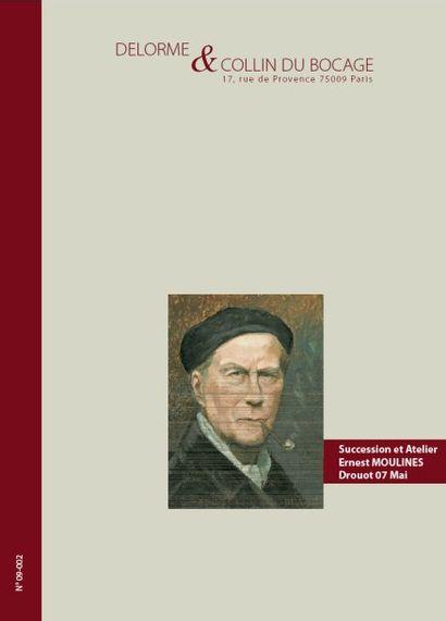 Succession et atelier complet de Ernest MOULINES (1870 - 1942) et à divers