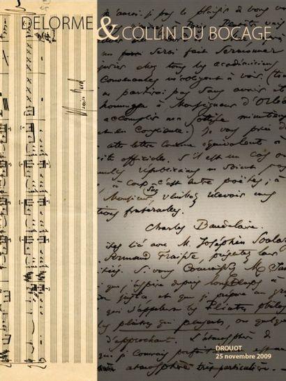 Autographes-Livres Anciens-Livres Modernes - Divers