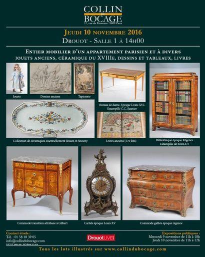 livres anciens et modernes - céramique - Dessins - Tableaux - Mobilier et objets d'art