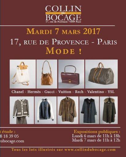 mode (sur le thème de la), bagages et accessoires de mode