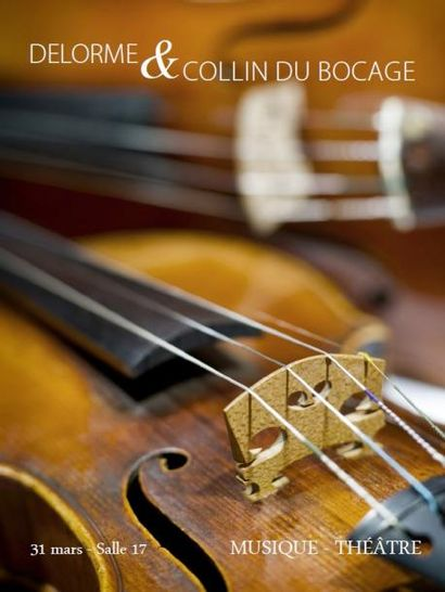 Musique beaux instruments et théâtre autour de Sarah Bernhardt