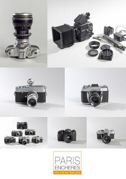 Appareils photos anciens et modernes