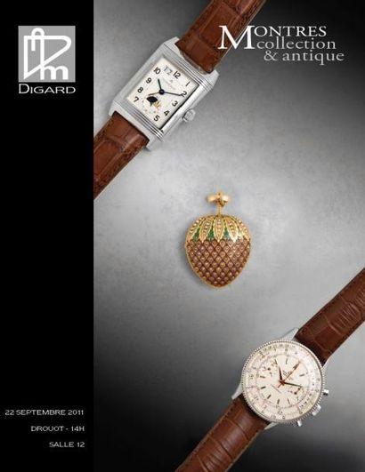 Montres anciennes et modernes, bijoux - Vente live