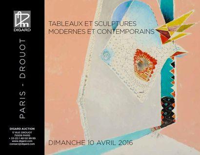 Tableaux et sculptures modernes et contemporains