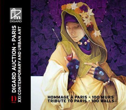 HOMMAGE A PARIS 100 MURS