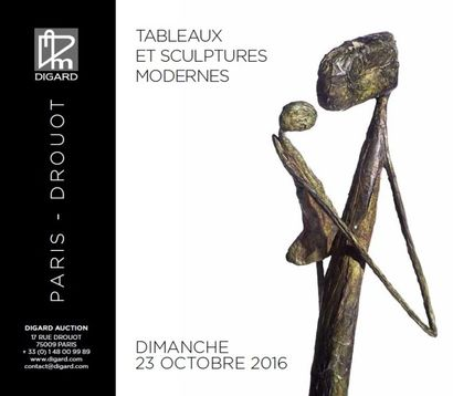 Tableaux et sculptures modernes