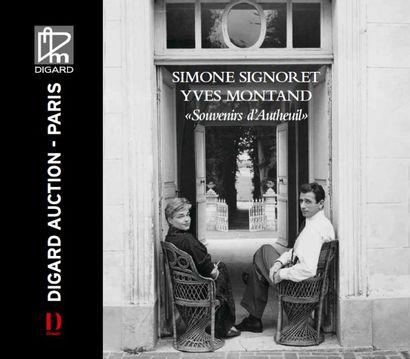 Simone SIGNORET Yves MONTAND Souvenirs d'Autheuil