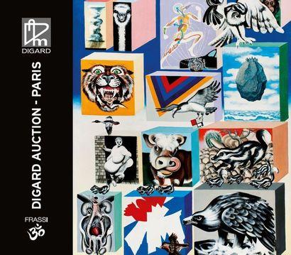 tableaux abstraits et contemporains
