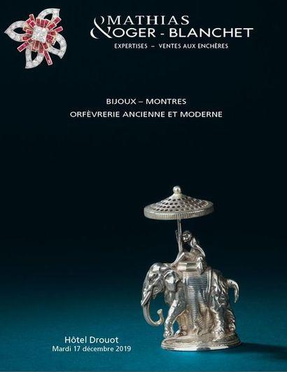 BIJOUX - MONTRES - ORFÈVRERIE ANCIENNE ET MODERNE