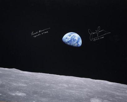 photographies de la NASA dédicacées par les astronautes