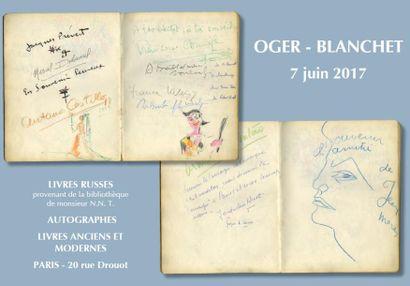 Autographes - Livres anciens et modernes (lots 124 à 331)