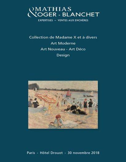Collection de Madame X et à divers : Art Moderne - Art Nouveau - Art Déco - Design