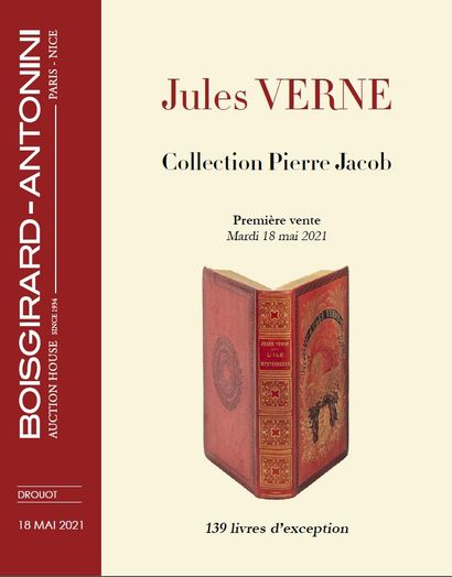 Jules VERNE - Pierre Jacob Collection First sale