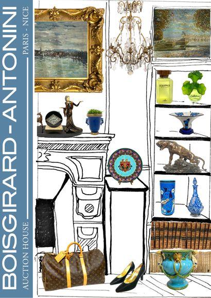 ART & DECO II [ONLINE] : Tableaux / Livres / Argenterie / Céramiques & Verreries/ Mode/Objets d'art & Mobilier
