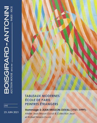 TABLEAUX MODERNES - ÉCOLE DE PARIS - PEINTRES ÉTRANGERS