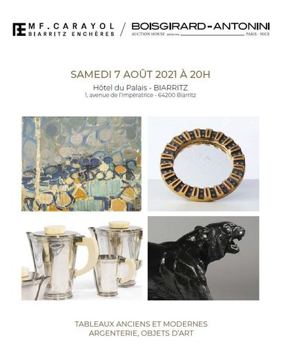 ANTIQUE AND MODERN PAINTINGS - SILVERWARE, OBJETS D'ART